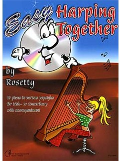 Rosetty: Easy Harping Together Books and CDs | Harp