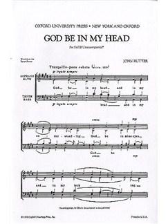 John Rutter: God Be In My Head (SATB) Books | SATB