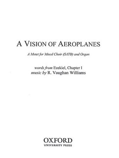 Ralph Vaughan Williams: A Vision Of Aeroplanes Books | SATB, Organ Accompaniment