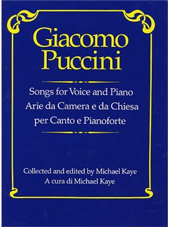 Giacomo Puccini: Songs For Voice And Piano Books | Voice, Piano Accompaniment