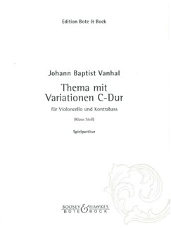 Theme and variations in C Books | Cello, Double Bass