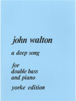 John Walton: A Deep Song Books | Double Bass, Piano Accompaniment