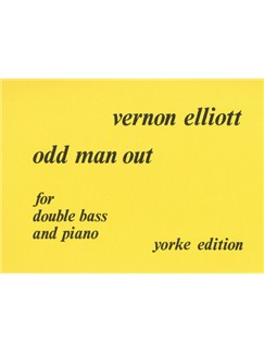 Vernon Elliott: Odd Man Out Books | Double Bass, Piano Accompaniment