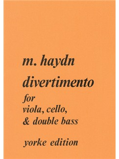 Michael Haydn: Divertimento For Viola, Cello, And Double Bass Books | Viola, Cello, Double Bass
