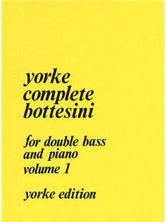 Giovanni Bottesini: Complete Bottesini Volume 1 Books | Double Bass, Piano Accompaniment