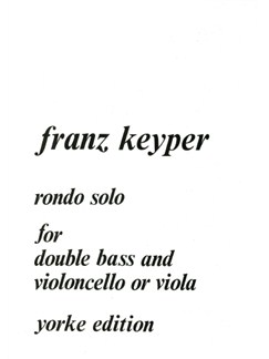 Rondo Solo Books | Double Bass