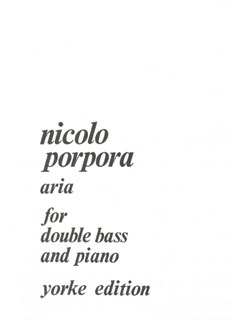 Aria Books | Double Bass