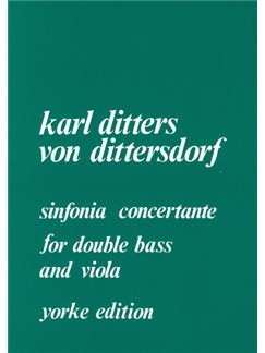 Sinfonia Concertante Books | Double Bass