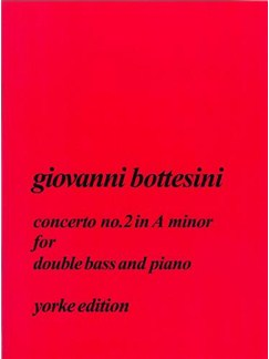 Giovanni Bottesini: Concerto No.2 In A Minor Books | Double Bass, Piano Accompaniment