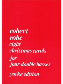 Christmas Carols for four double basses by Rohe Books | Double Bass