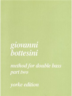 Giovanni Bottesini: Method For Double Bass Part 2 Books | Double Bass