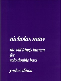 The Old King's Lament Books | Double Bass