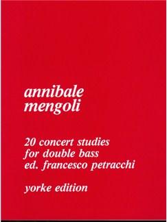 Twenty Concert Studies Books | Double Bass