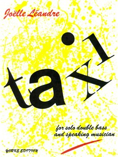 Joelle Leandre: Taxi! Books | Double Bass, Voice