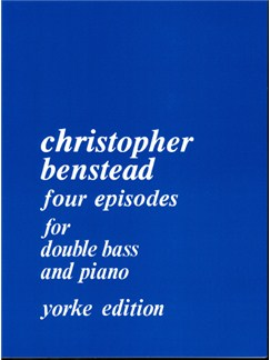 Christopher Benstead: Four Episodes (1982) Books   Double Bass, Piano Accompaniment
