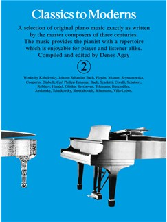 Classics To Moderns Book 2 Books | Piano