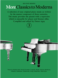 More Classics To Moderns: Book 3 Books | Piano
