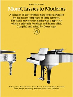 More Classics To Moderns - Book 4 Books | Piano