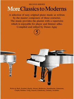 More Classics To Moderns - Book 5 Books | Piano