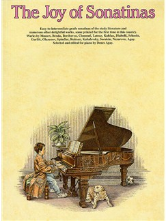 The Joy Of Sonatinas Books | Piano