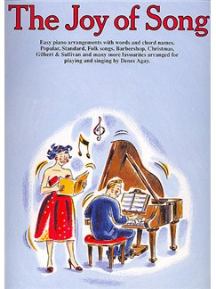 The Joy Of Song Books | Piano and Voice, with Guitar chord symbols