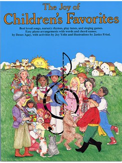 The Joy Of Children's Favourites Livre | Piano, Chant et Guitare (Symboles d'Accords)