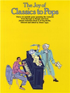 The Joy Of Classics To Pops Books | Piano