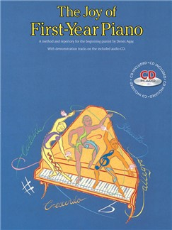 The Joy Of First-Year Piano (With CD) Books and CDs | Piano