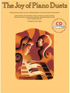 The Joy Of Piano Duets (With CD) Books and CDs | Piano Duet