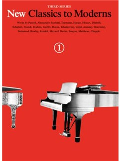 New Classics To Moderns: Book 1 Books | Piano