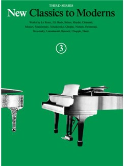 New Classics To Moderns: Book 3 Books | Piano