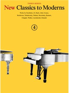New Classics To Moderns: Book 4 Books | Piano