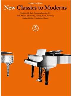 New Classics To Moderns: Book 5 Books | Piano