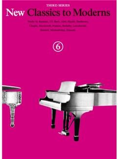 New Classics To Moderns: Book 6 Books   Piano
