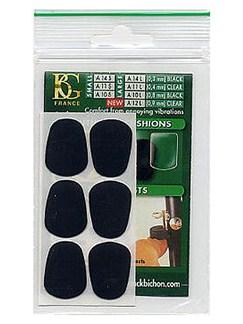 BG: A10L Large Mouthpiece Cushion - Black (Pack of 6)  | Clarinette, Saxophone