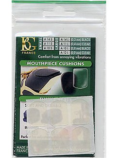 BG: A11S Small Mouthpiece Cushion - Clear (Pack of 6)  | Clarinet, Saxophone