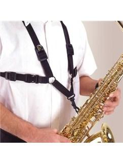 BG: S40SH Saxophone Harness - Mens  | Alto Saxophone, Tenor Saxophone, Baritone Saxophone