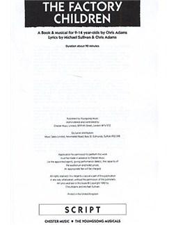 The Factory Children (cript) Books | Voice