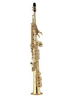 Yamaha: YSS475 Intermediate Soprano Saxophone Instruments | Soprano Saxophone