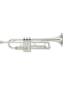 Yamaha: YTR-4335GS II - Silver B Flat Trumpet Outfit Instruments | Trumpet