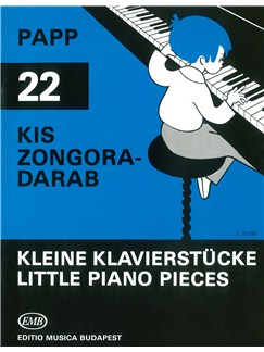 Lajos Papp: 22 Little Piano Pieces Books | Piano
