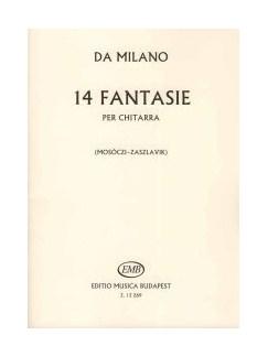 Francesco Canova da Milano: 14 Fantasie Per Chitarra Books | Classical Guitar, Guitar