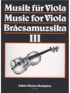 Music For Viola III Books | Viola, Piano Accompaniment