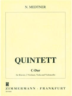 Nikolai Medtner: Piano Quintet In C Books | String Ensemble, Piano Chamber