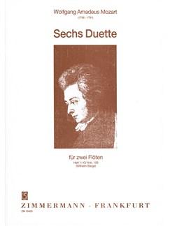 Mozart: 6 Duets Book 1 K156 Books | Flute