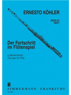 Ernesto Kohler: The Flautist's Progress Op.33 Book 1 Books | Flute