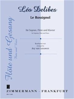 Delibes: Le Rossignol Books   Flute, Voice