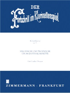 Robert Kietzer: Clarinettist's Progress Op.91 Book 1 Books | Clarinet
