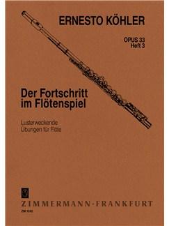 Ernesto Kohler: Flautists Progress Op.33 Book 3 Books | Flute