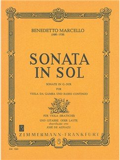 Marcello: Sonata G Major Books | Guitar, Viola
